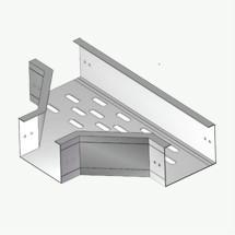 ZST(F)1型铝合金有孔直角三通